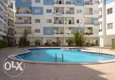 for rent 2 bedrooms apartment الغردقة -  1