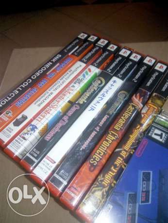 Playstation 1 & 2 Collections Rare Games
