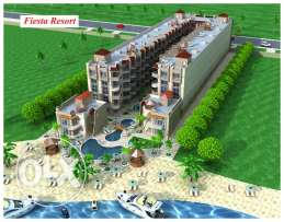 Apartments for Sale Directly from the owner.Sea view. Private beach. Fiesta Resort