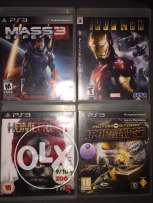 4 games for PS3