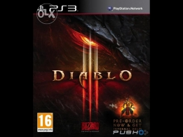Diablo III game For PS3
