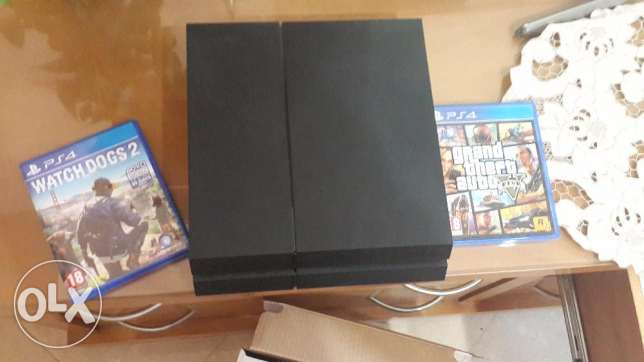 Ps4 and watch dogs 2 and Gta V