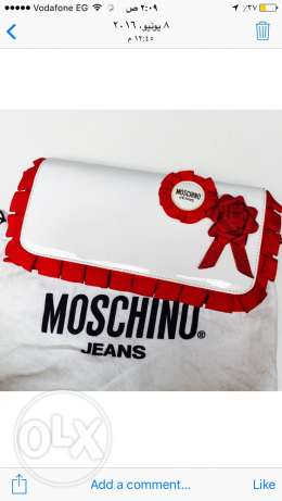 brand new Moschino clutch