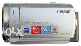 dcr-sr68 sony 80gb lcd touch screen