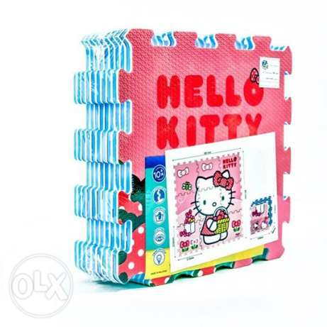 9pcs HT Printed Puzzle-H Kitty