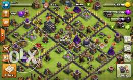 Clash of clans max th 9 lvl 30 queen