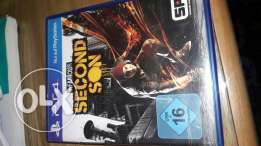 لعبة second son ps4 و watch dogs