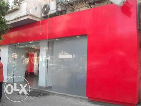Commercial property for rent in new maadi,70m super lux,5m frontage ,