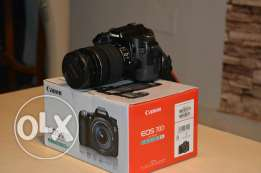 Canon d70 with lens 18-135 stm as new