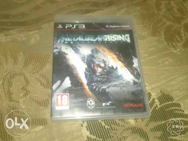 اسطوانة Metal gear rising ps3