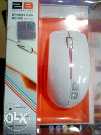2B mouse wireless 2.4g white / black