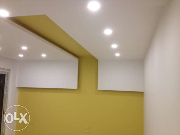 gypsum board and painting