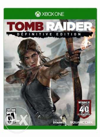 لعبتين tomb raider definitive edition و rise of the tomb rai