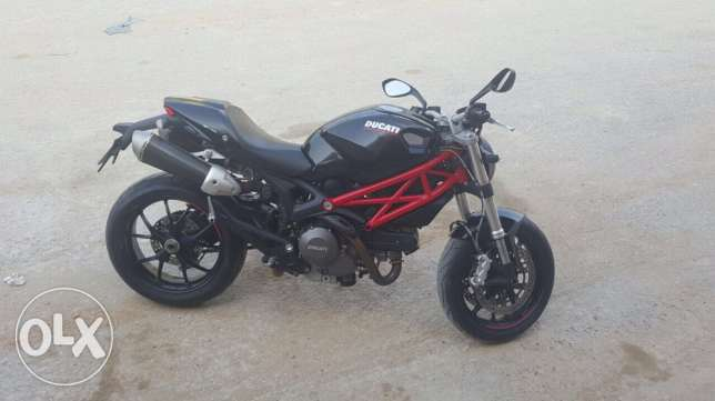 Monster 2013 796 motorcycle