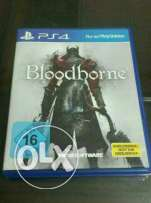 Bloodborne ps4 ( like new )
