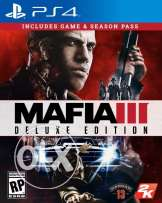 ps4 secondary account MAFIA 3 DELUXE EDITION & until dawn & god of war