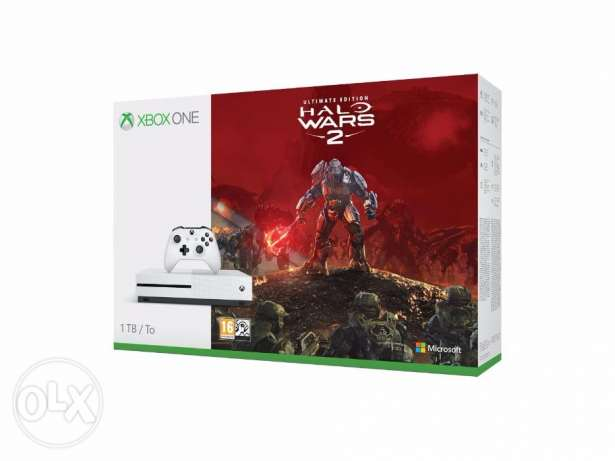 Xbox One S 1TB + Halo Wars 2:Ultimate Edition
