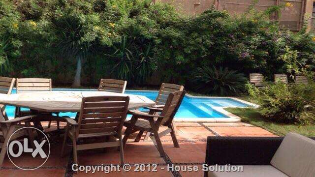 Furnished Villa For Rent In Maadi Degla