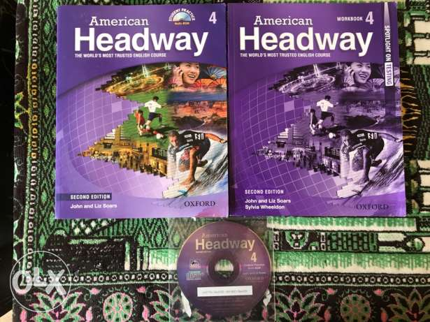 Amideast's General English books for Upper Intermediate 3 and 4