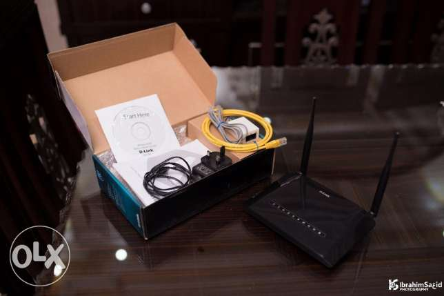 D-Link DSL-2750U Wireless 4 Port Modem Router N300 مدينة المستقبل -  2