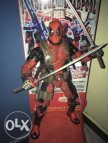 Neca 1/4 Scale Deadpool Action Figure القاهرة -  1