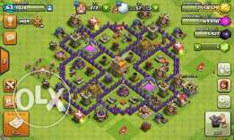 Town clash of clans lv 7