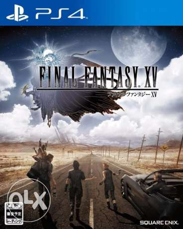 مطلوب Final Fantasy xv on ps4 used