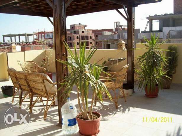 Duplex in hurghada 210 m.sq see view 2nd row of the corniche