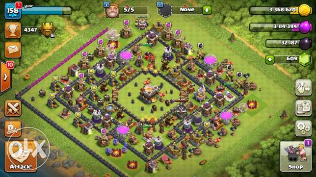 townhall 11 max