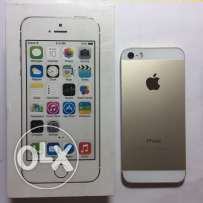 Iphone 5s Gold استغدام اسبوعين