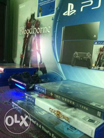 PS4 500GB with box and 7 games CD مدينة نصر -  1