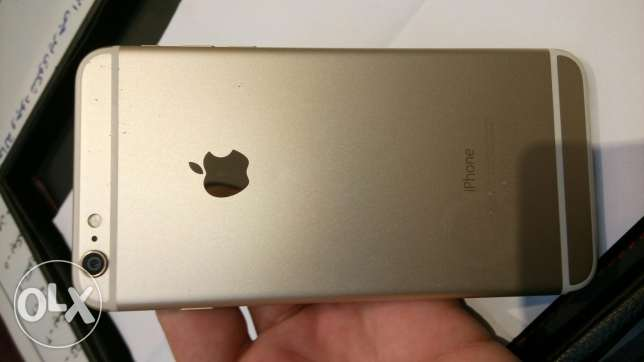 iPhone 6 Plus 64GB Gold مدينة نصر -  1