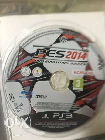 pes 2014 for PS3 used الوراق -  2