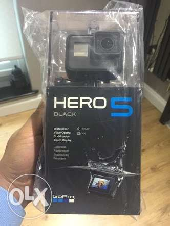 GoPro hero 5 brand new sealed. lowest price in Egypt