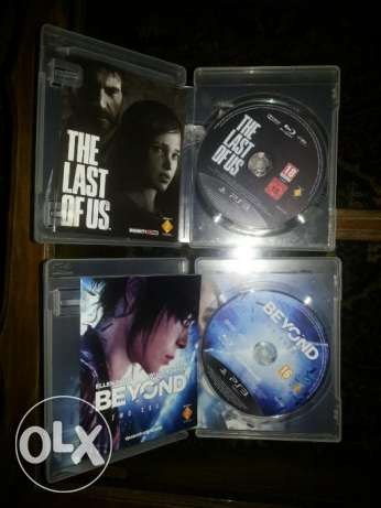 The Last of us .. Beyond two souls *Ps3* مدينة الرحاب -  2