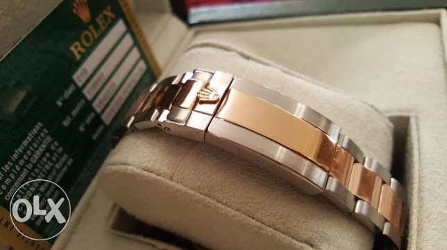 Rolex Yacht Master1 Rose-Gold first copy with box and Int. guarantee القاهرة -  7