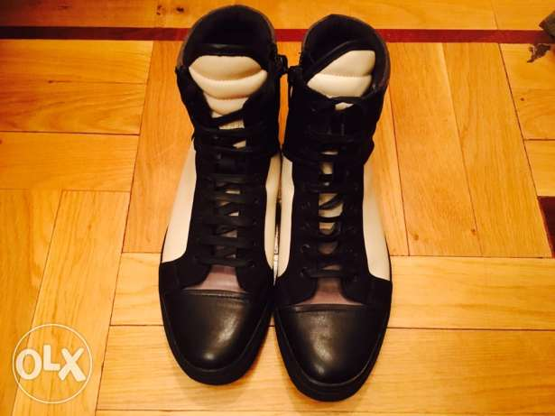 kenneth cole NY hi-top shoes