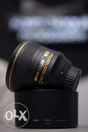 Nikkor 85mm f/1.4 G like new