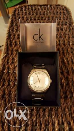 CK watch Swiss made سموحة -  5