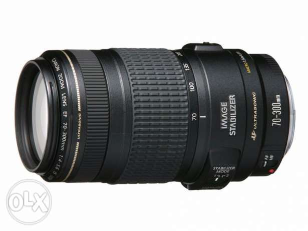Canon Lens 70-300 IS USM Without Box Made In Japan
