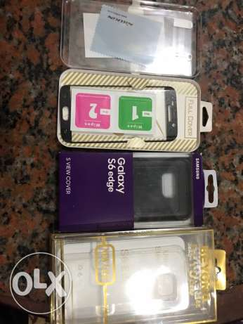 Samsung s6 edge screen and cases