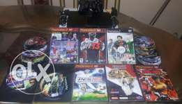 Ps2 with 27 games like new