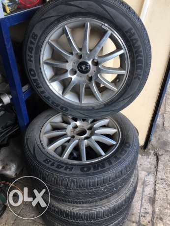 Daewoo Lacetti Tire P195/60R15 87H (4 Pieces)