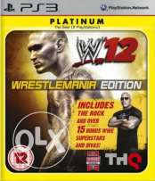 WWE'12 Platinum PS3