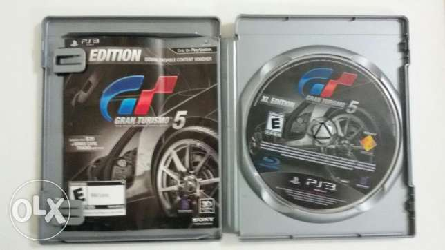 Gran Turismo 5 XL Edition-ps3 الغردقة -  2