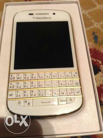 Blackberry q10 gold edition