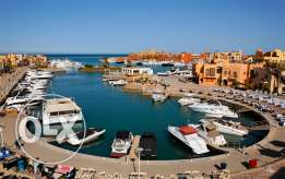 Sea view apartment in New Marina, El Gouna