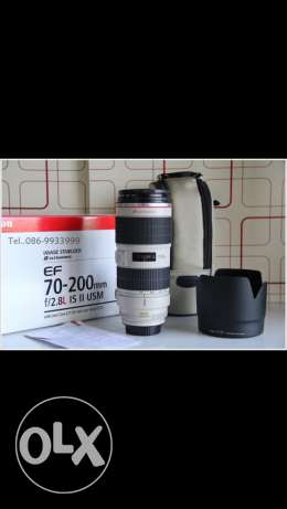 Canon Lens 70-200 f 2.8 is ii USM