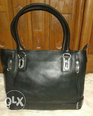 Black Natural leather