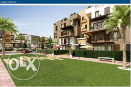 Duplex with garden for sale in Westown-Sodic with installments